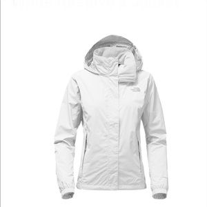 The North Face Womens White Resolve 2 Jacket